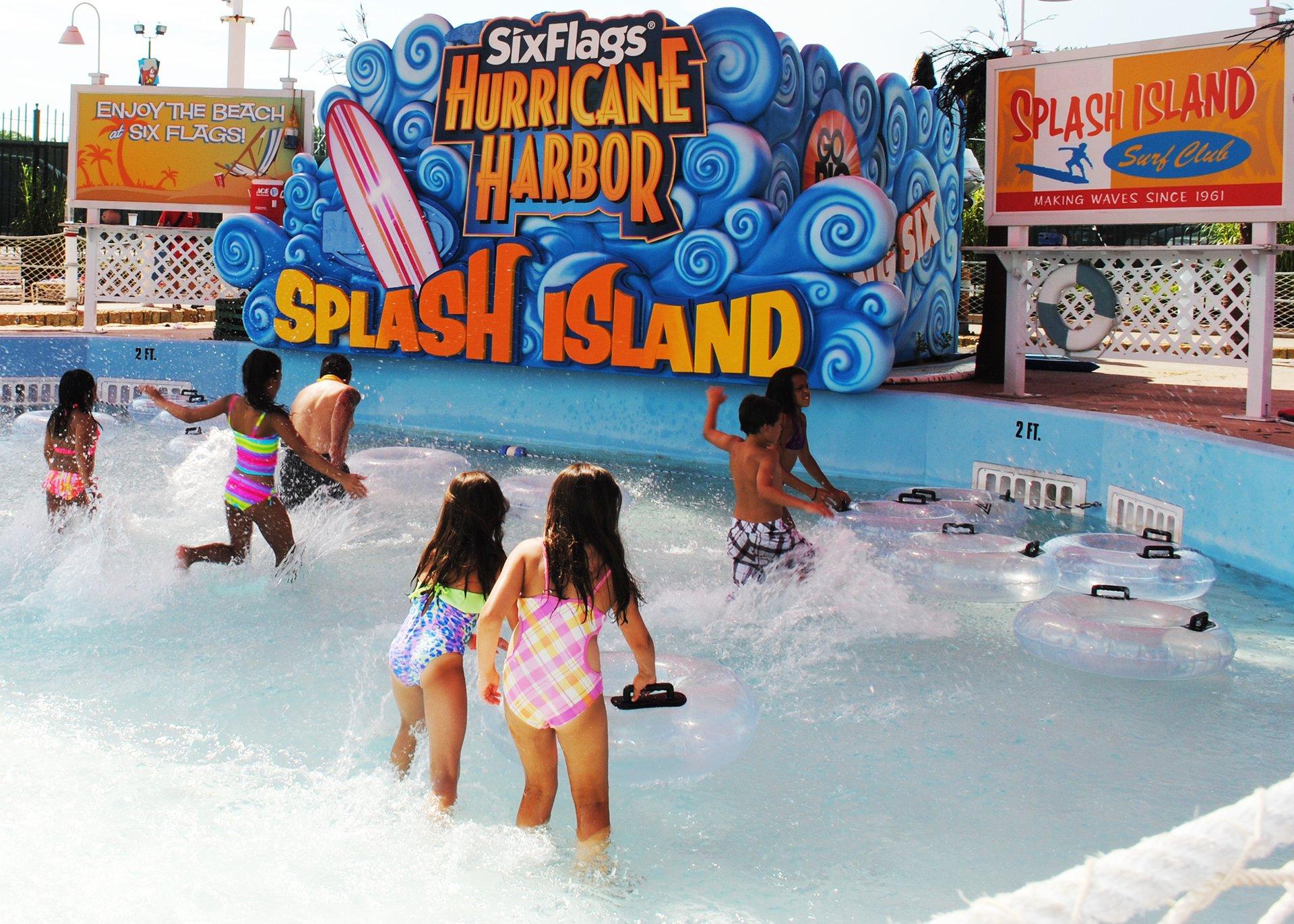 2017_sfne_splashisland_1 Png Splash Island At Six Flags