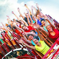 How much is a Six Flags Family Pass?