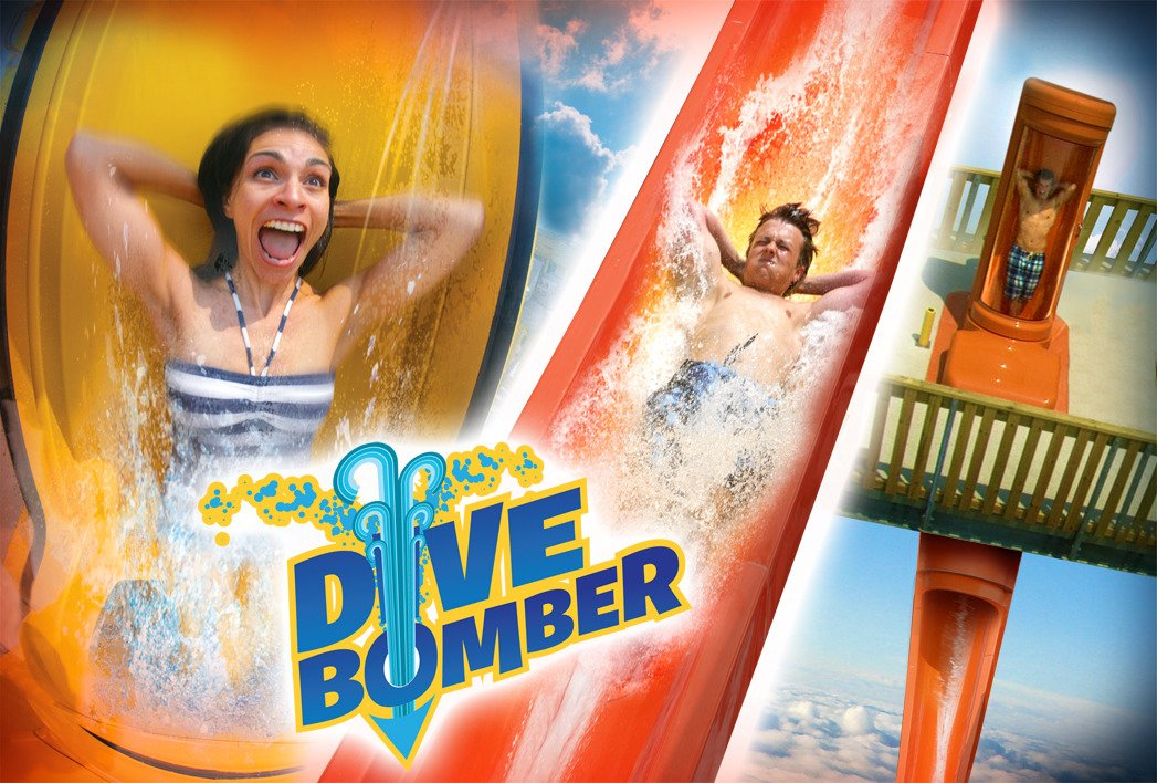 Six Flags Dive Bomber