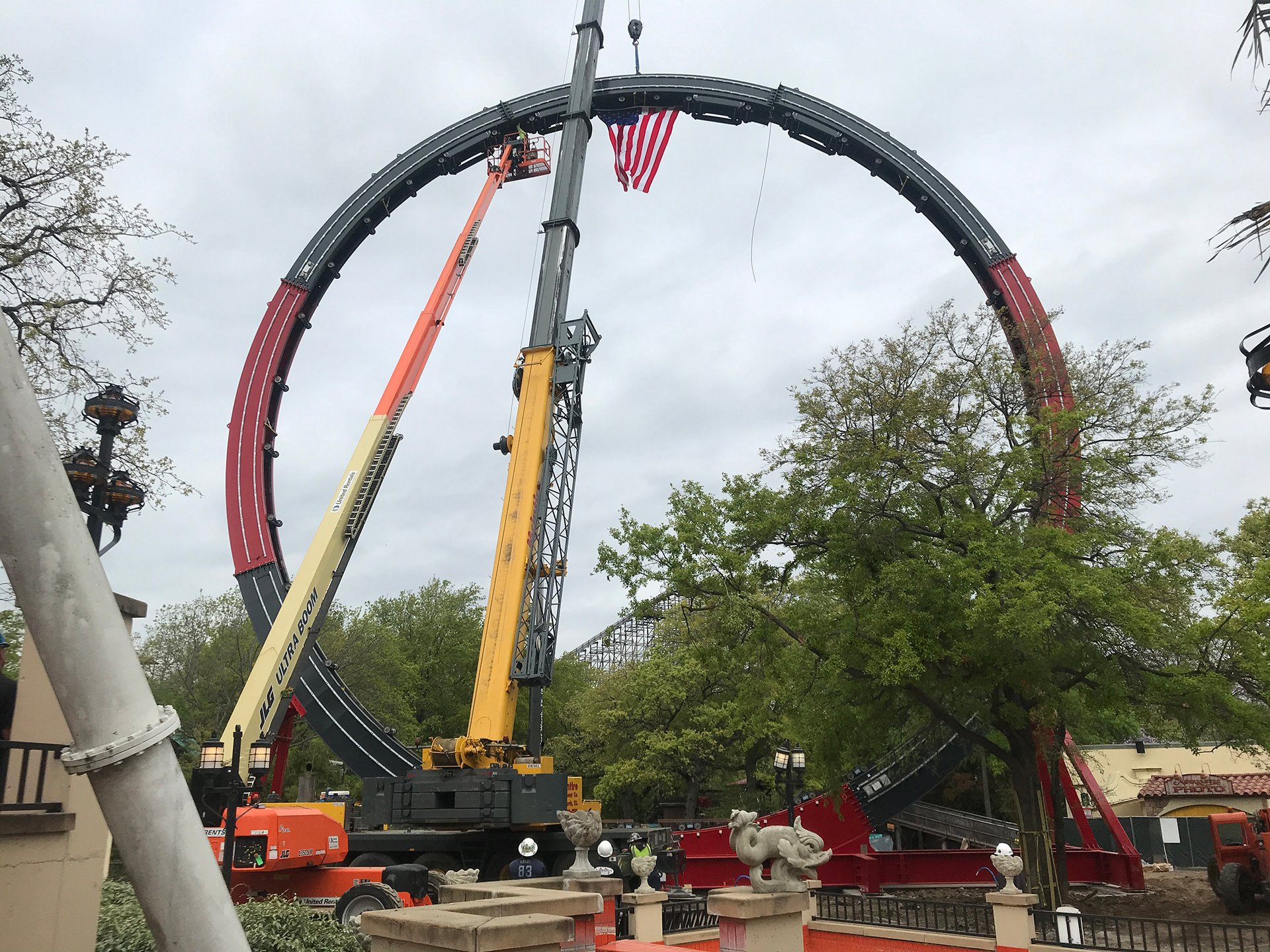 World's Largest Loop Coaster Coming to Six Flags Over Texas in 2019