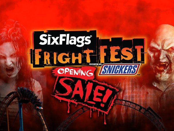 Fright Fest Opening Sale