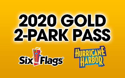2-Park Gold Season Pass