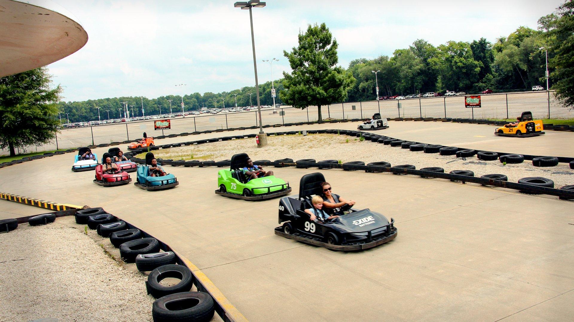 Go Karts Atlanta Ga >> Gold Town Racers Six Flags Over Georgia