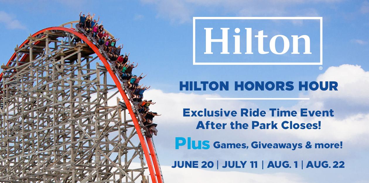 Hilton Honors Hour Six Flags Fiesta Texas