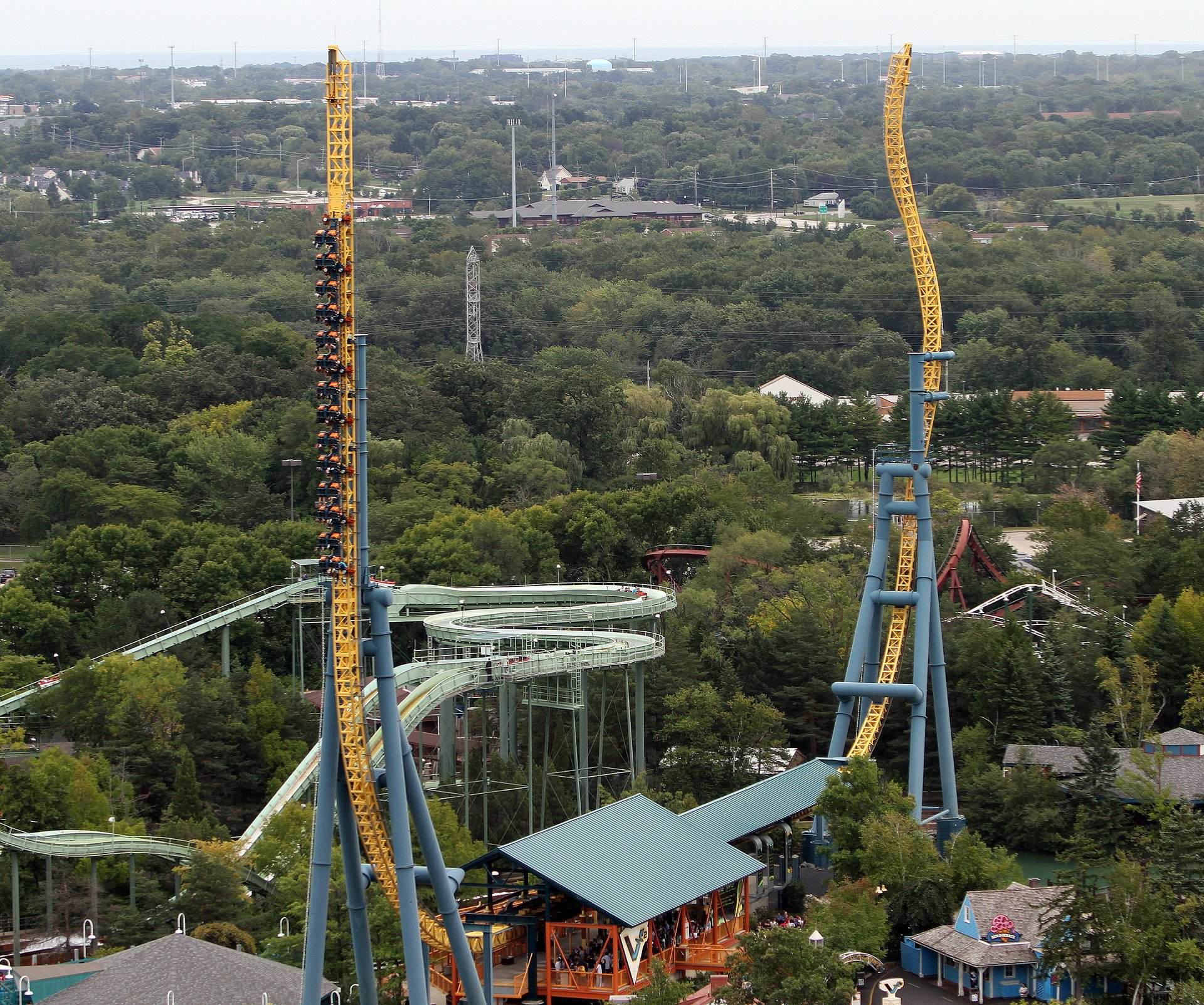 Vertical Velocity Six Flags Great America Roller Coaster Train Diagram Img 7480