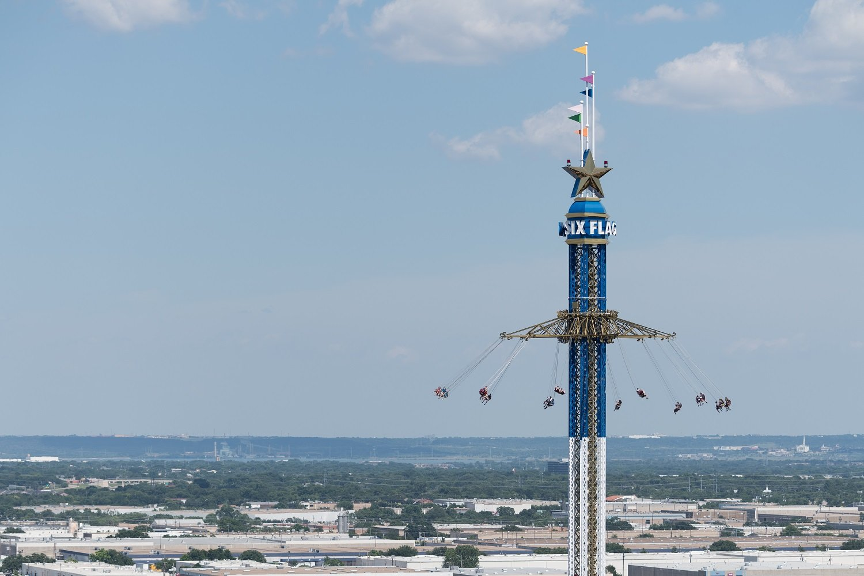 Texas Skyscreamer Six Flags Over Texas