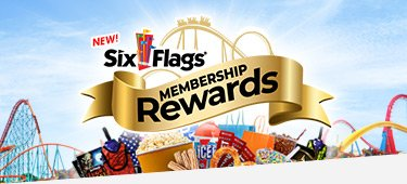 Six Flags Membership Rewards offers numerous prizes for Six Flags guests