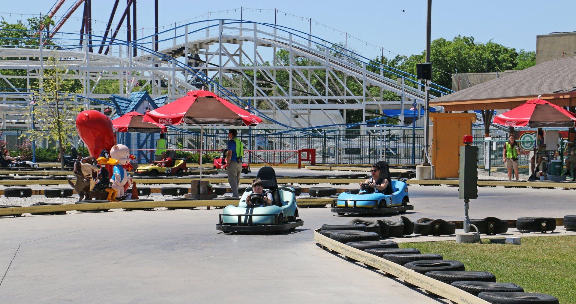 Winner\'s Circle Go Karts | Six Flags Great America