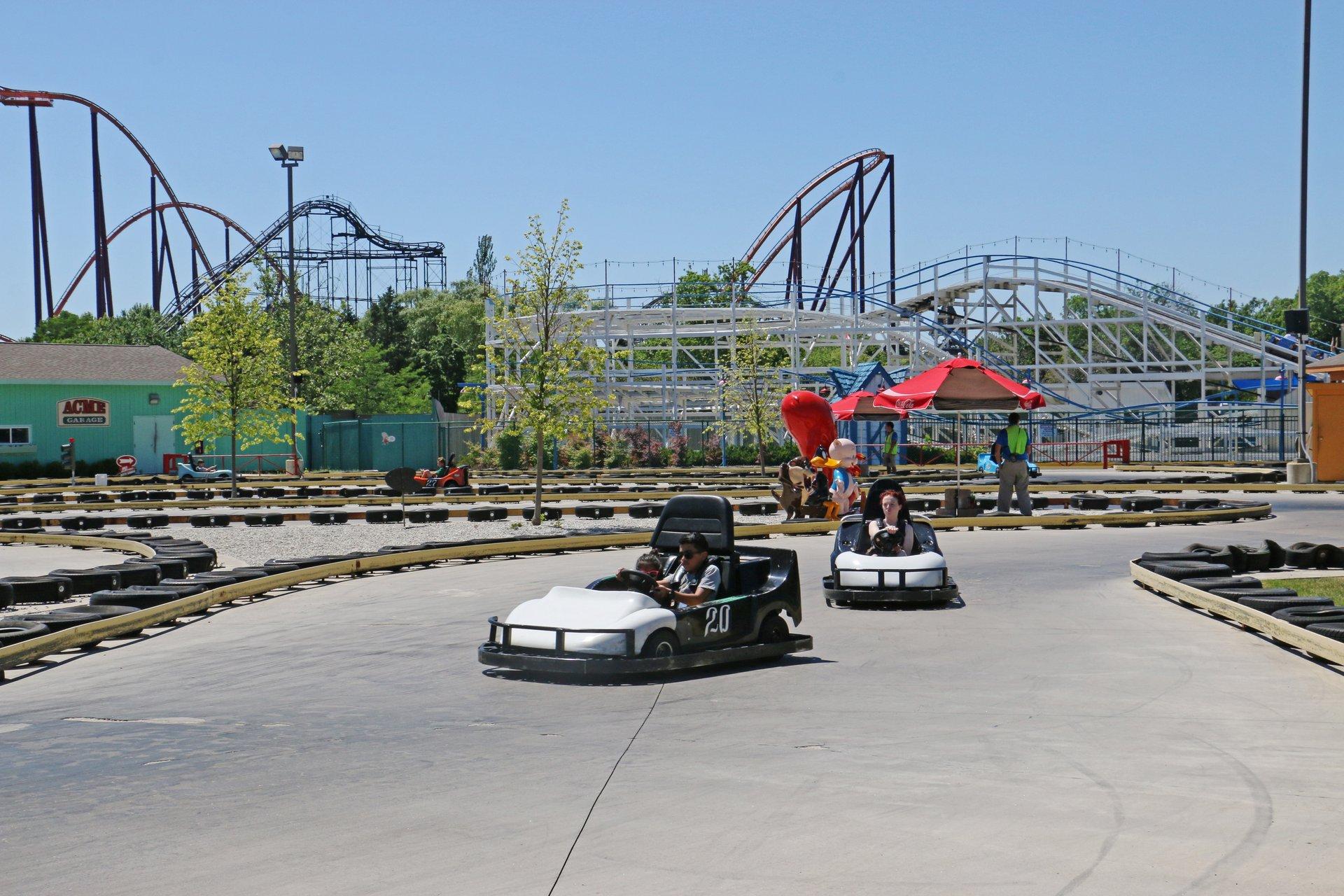 Winner's Circle Go Karts | Six Flags Great America