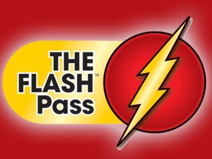 THE FLASH Pass logo