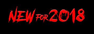 New in 2018