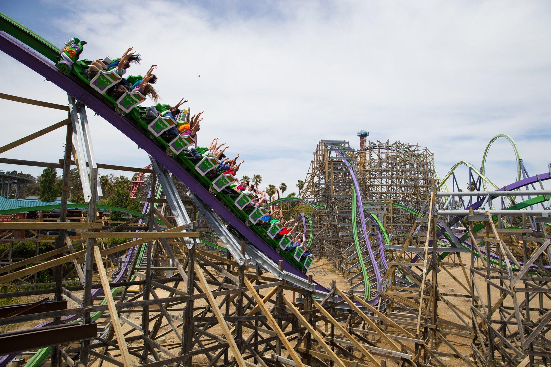 THE JOKER | Six Flags Discovery Kingdom