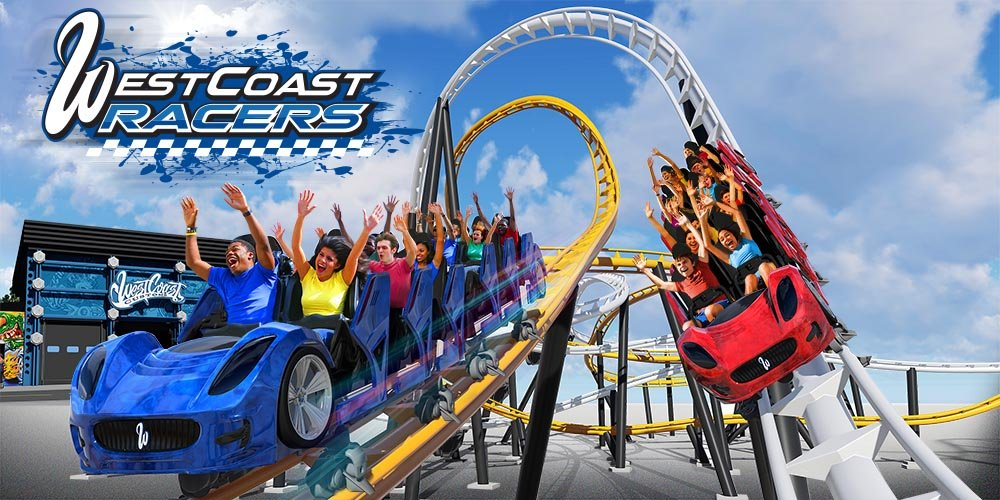 Worlds First Racing Launch Coaster Coming To Six Flags Magic Mountain In 2019