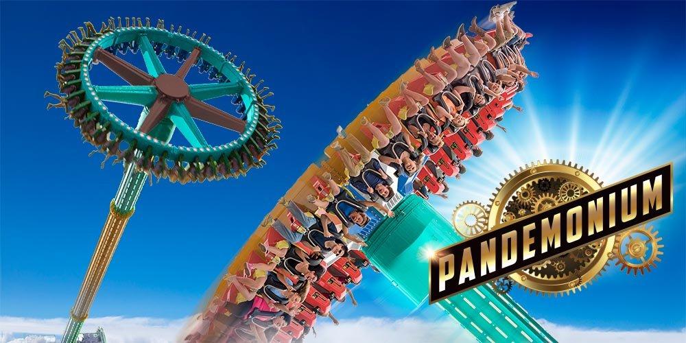 Swinging Pendulum Thrill Ride Coming To Six Flags Over Georgia In 2019 Six Flags Over Georgia