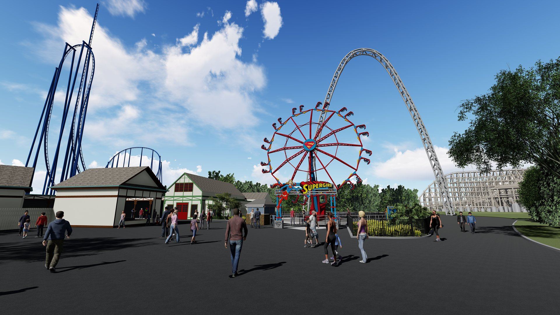 High Speed Giant Thrill Wheel Coming To Six Flags St ...