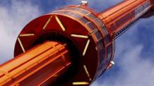 Spirale ride tower
