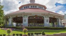 1909 Illions Grand Carousel at Six Flags New England