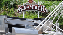 Scrambler at Six Flags New England