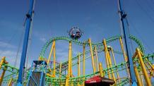 Slingshot at Six Flags New England