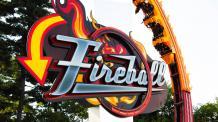 Fireball at Six Flags New England