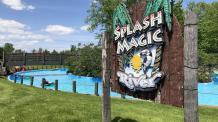 Splash Magic River sign