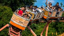Guests young and old enjoy Canyon Blaster