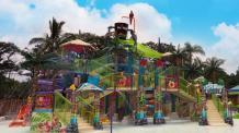 Todos Los Juegos Acuaticos Hurricane Harbor Oaxtepec Mexico