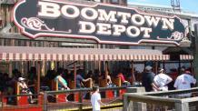 Boomtown Depot train station