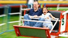 Family enjoying a ride