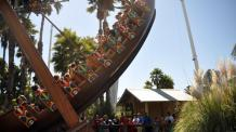 Ark swinging boat ride