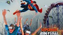 SUPERMAN Ride of Steel Virtual Reality Coaster
