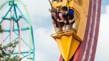 Six Flags Great Adventure's El Diablo looping coaster