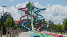 Cannonball Falls water slides