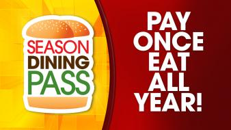 Pay once and save all year with a Six Flags Season Dining Pass.