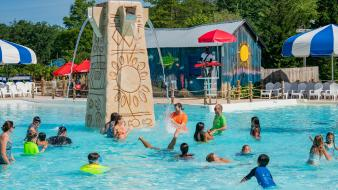 Guests in Calypso Springs Pool