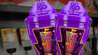 2018 refillable purple sport bottle