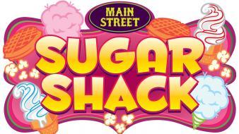 Sugar Shack logo with ice cream cones