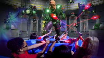 Guests battling LEX LUTHOR
