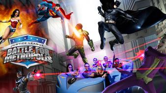 Justice league battle for metropolis