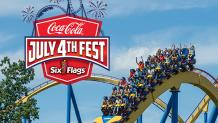 guests on nitro with Coke July 4th fest logo