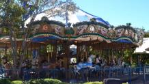Amerigoround Carousel with unique horse and animal mounts and carnival music