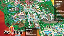 Six Flags St. Louis Park Map
