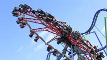 coaster at theme park