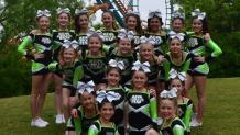 Cheer-leading squad