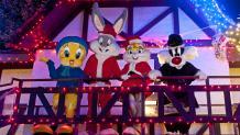 Looney Tunes con disfraz navideño