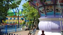 Children riding Animation Department at Six Flags New England