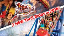 New coasters Fireball and SUPERMAN The Ride