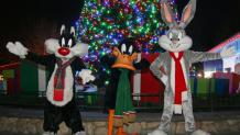 Looney tunes characters at christmas