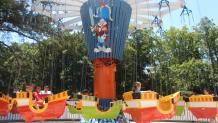 Family Rides Six Flags Over Georgia
