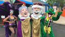 Mardi Gras entertainers